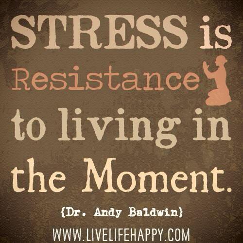 Motivational Monday: Don't Stress Tyself!