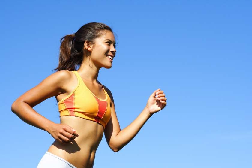 Woman Running 2