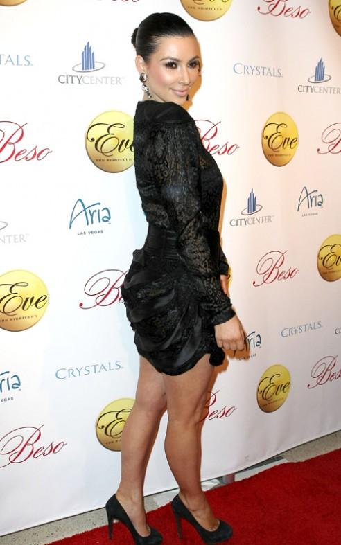 Kim Kardashian Balenciaga Dress 1
