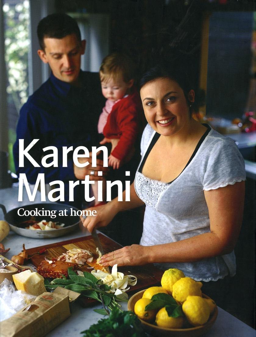 Karen Martini Cooking at Home