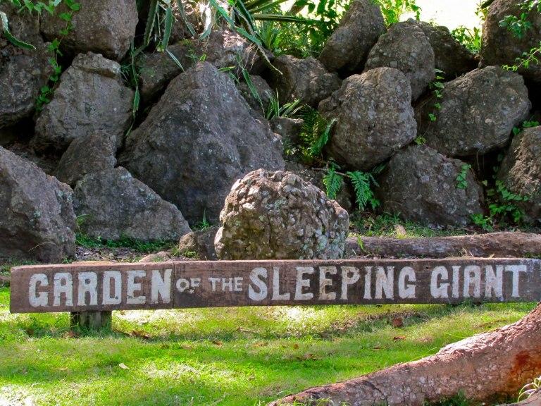 Fiji - Garden of the Sleeping Giant
